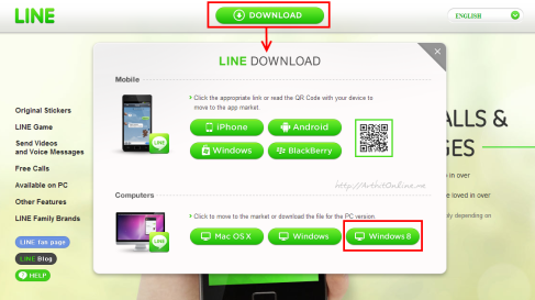 Line-Download